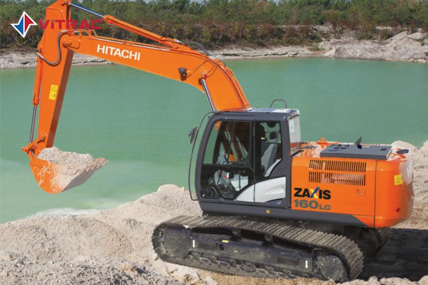 xe đào bánh xích Hitachi ZX160LC-5G