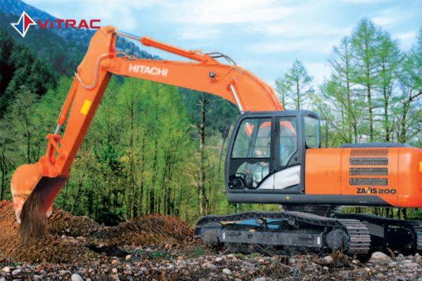 xe đào bánh xích Hitachi ZX200-5G