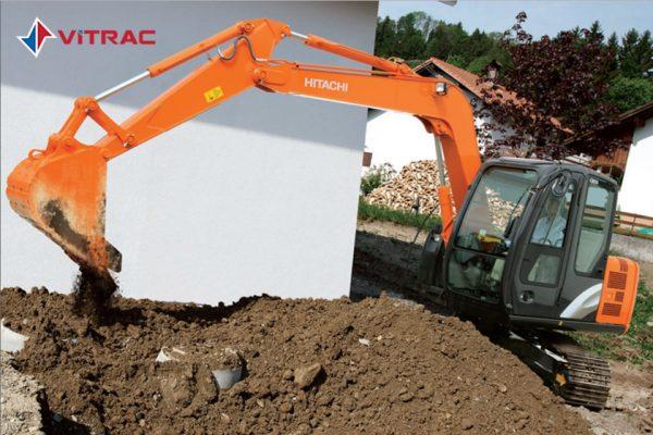 xe đào bánh xích Hitachi ZX70-5G