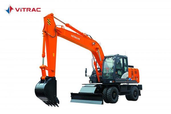 máy đào bánh lốp hitachi zx190w-5a