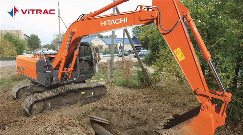 máy đào bánh xích hitachi zx160lc-5