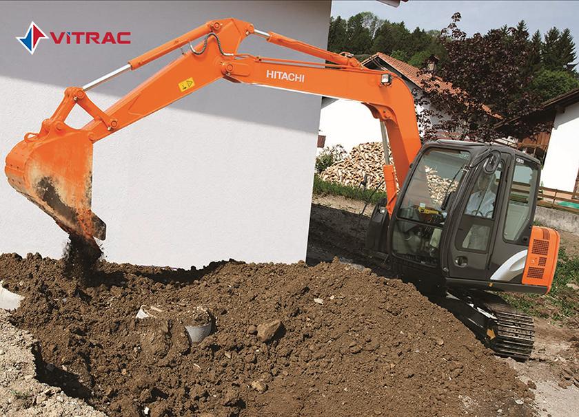 Máy đào bánh xích Hitachi ZX70-5G