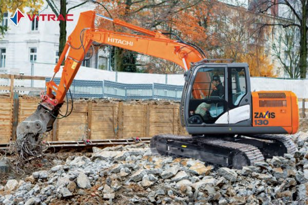 xe đào bánh xích Hitachi ZX130-5G